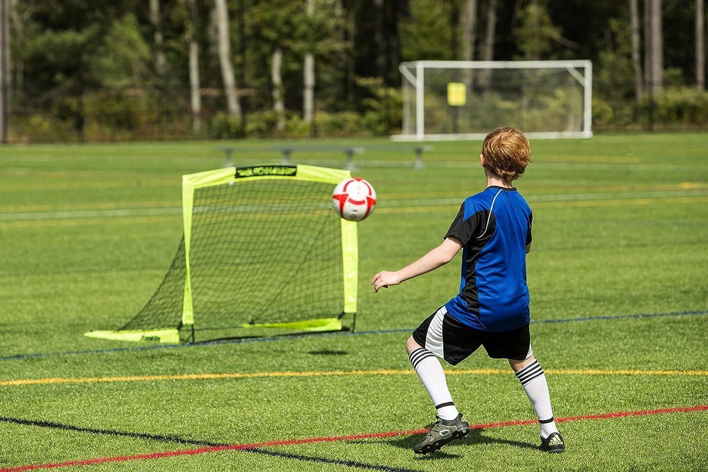 amazon com franklin blackhawk portable soccer goal small