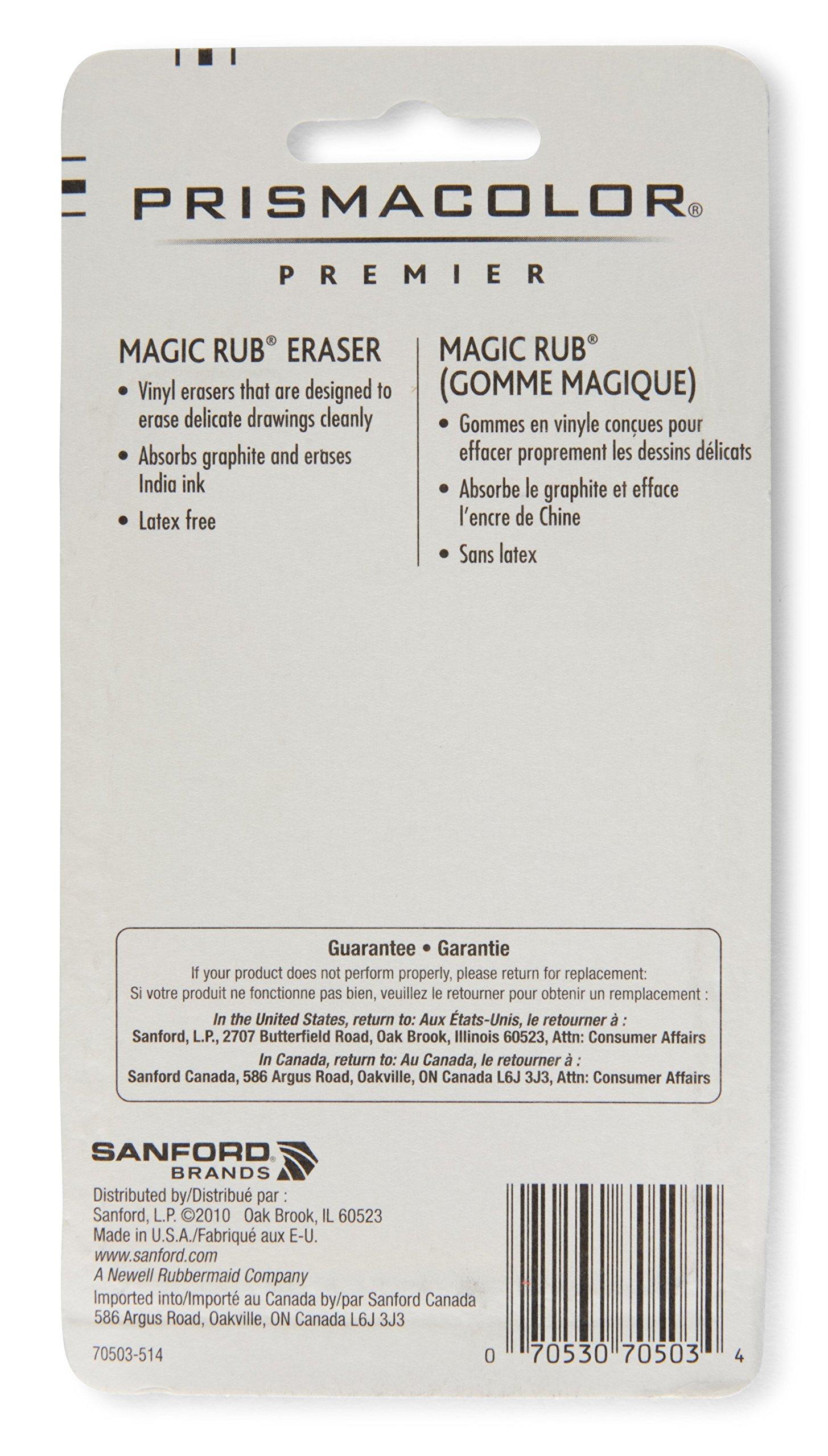 Prismacolor Premier Magic Rub Vinyl Erasers, 3-Count by Prismacolor (Image #2)