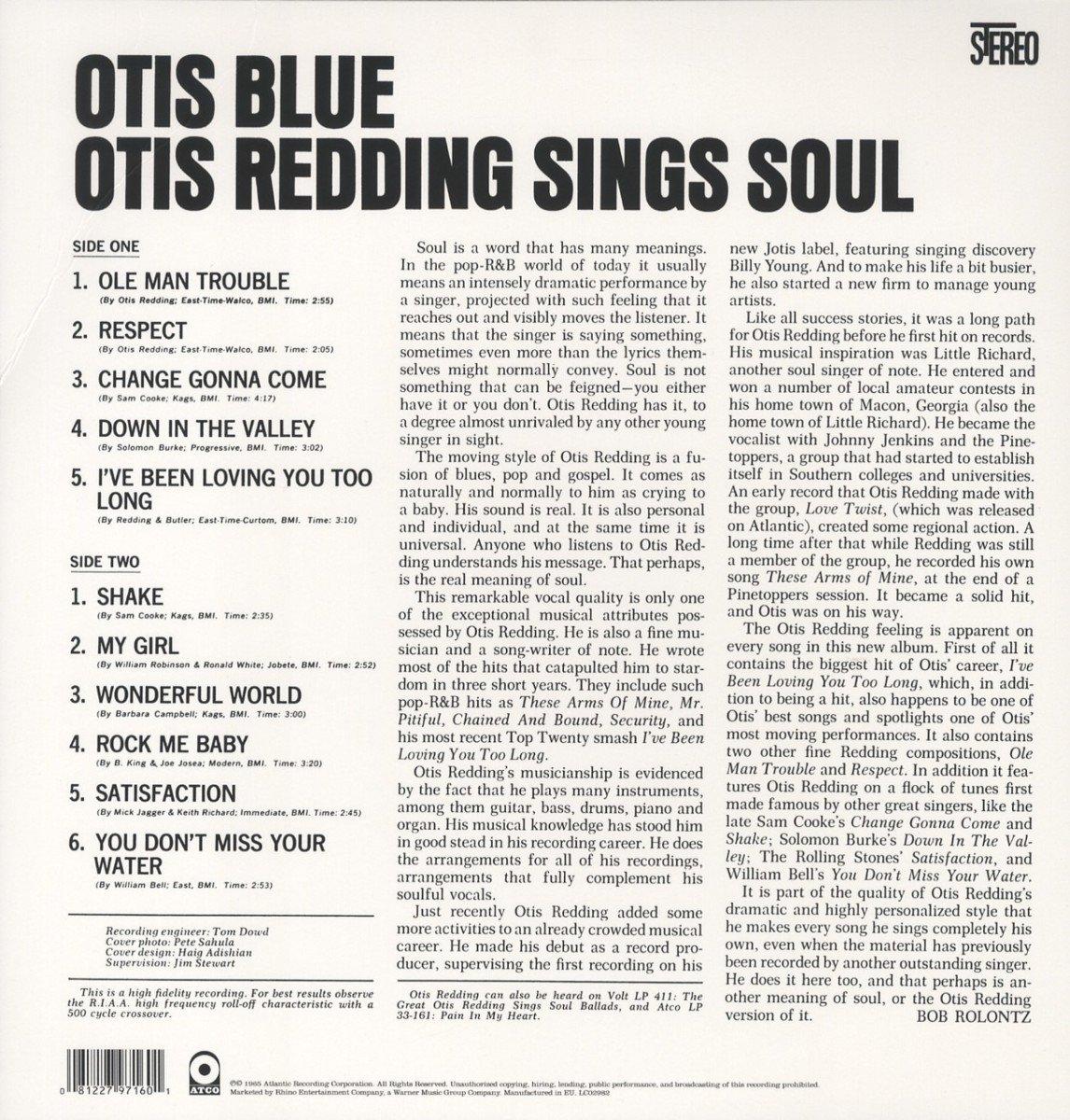 Otis Blue : Otis Redding: Amazon.es: Música