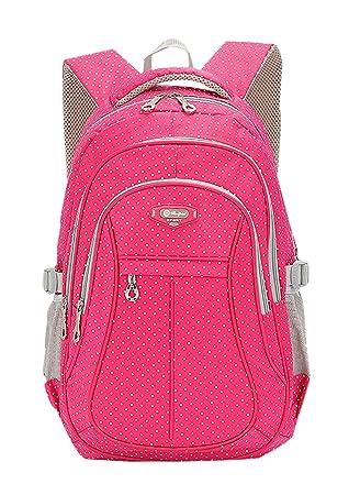 46bce2f3d73c Amazon.com | JiaYou Kid Child Girl Multipurpose Dot Backpack School ...