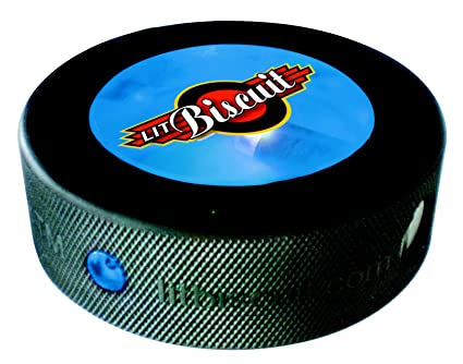 830f44db6e3 Amazon.com   Lit Biscuit Lighted Hockey Puck (Blue)   Sports   Outdoors