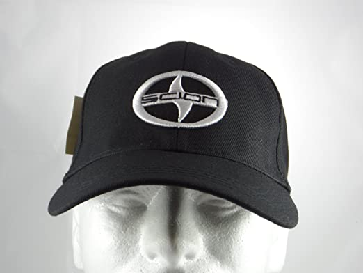 scion baseball hat cap black adjustable back new tc