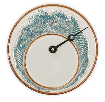 Amazon Georgetown Pottery Tide Clock Ivory Wave Home Kitchen