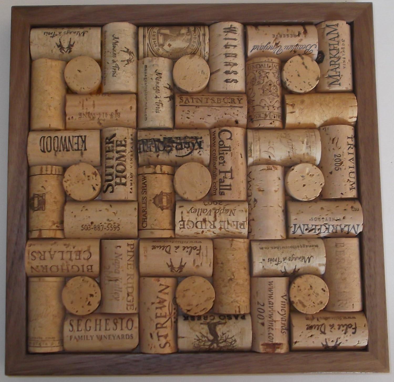 amazon wine cork trivet with walnut frame wine cork bulletin amazon wine cork trivet with walnut - Wine Cork Picture Frame