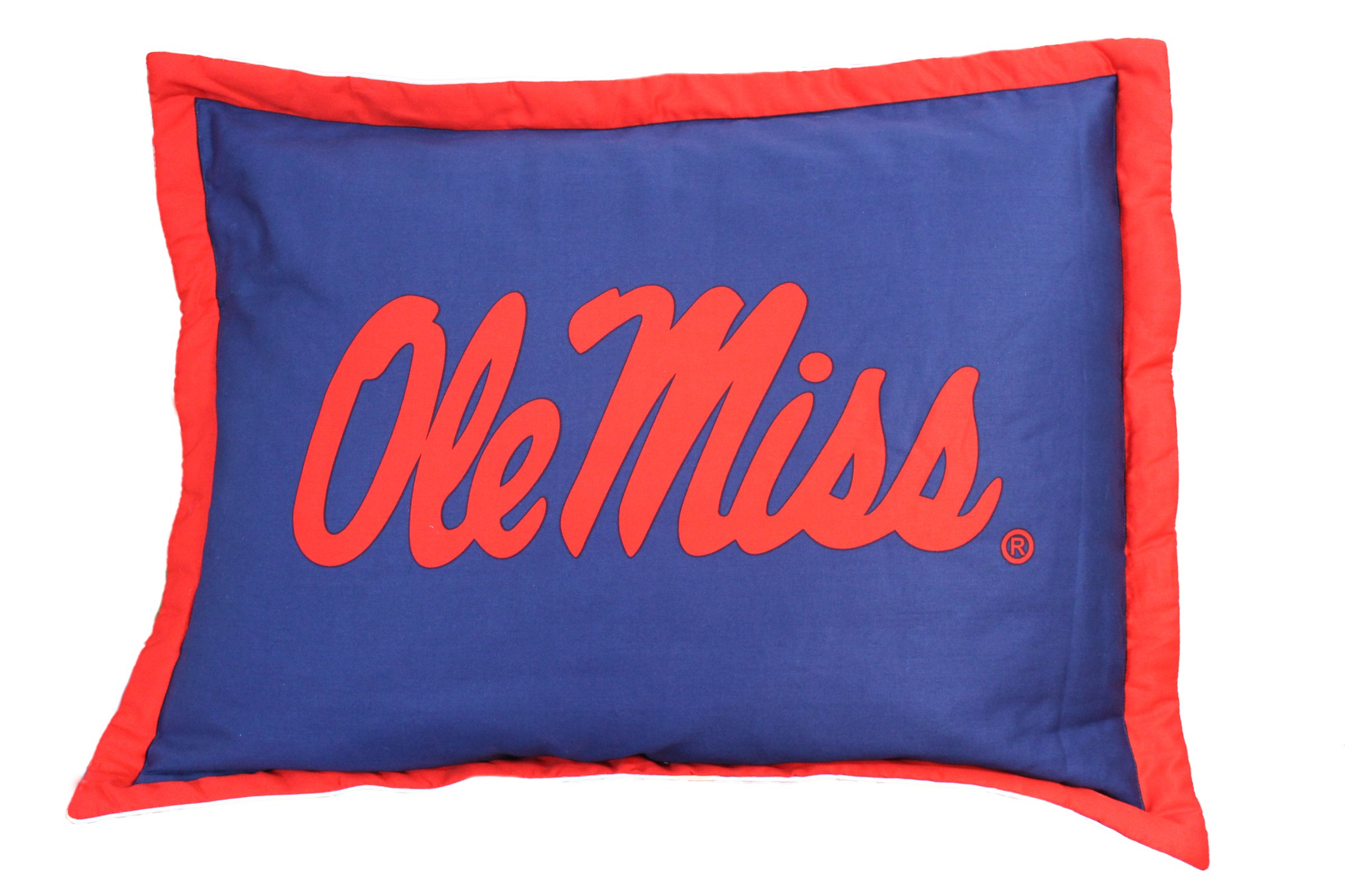 College Covers Mississippi Rebels Reversible Comforter Set, Queen by College Covers (Image #3)