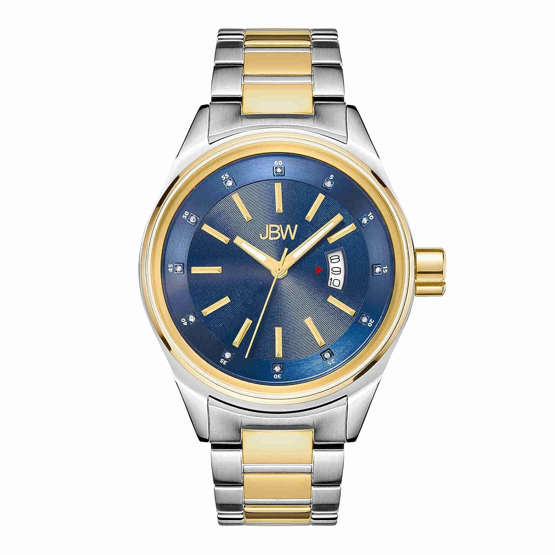 JBW ダイヤモンド Men's Stainless Steel Watch ROOK B01BMOV3EE TwoTone/J6287N TwoTone/J6287N