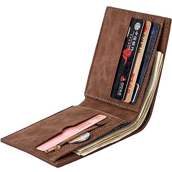 special-purpose factory-made mens wallet Wallet Coins bag-wallet purse US dollars parcel AliExpress, black at Amazon Mens Clothing store: