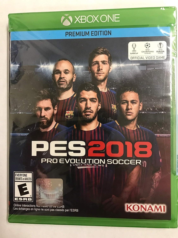 Amazon com: Pro Evolution Soccer 2018 - Xbox One: Konami of