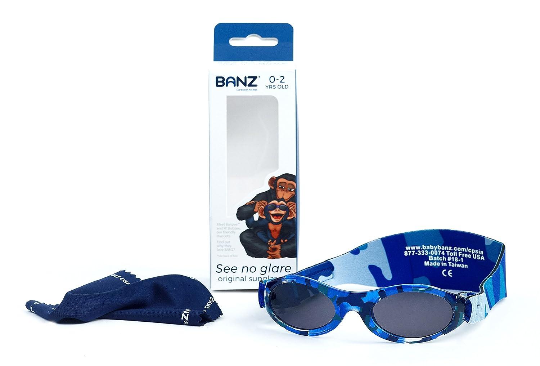 BABY BANZ BUDZEE Gafas de sol para Bebés de 0 a 2 años. (Onyx). BZS