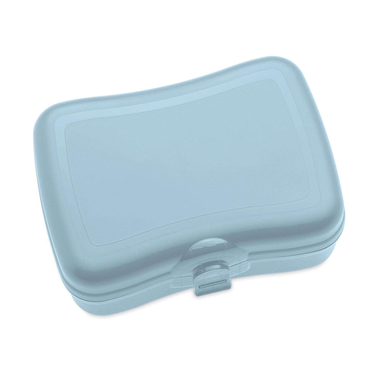 koziol lunch box Basic, thermoplastic, powder blue, 12.2 x 16.8 x ...