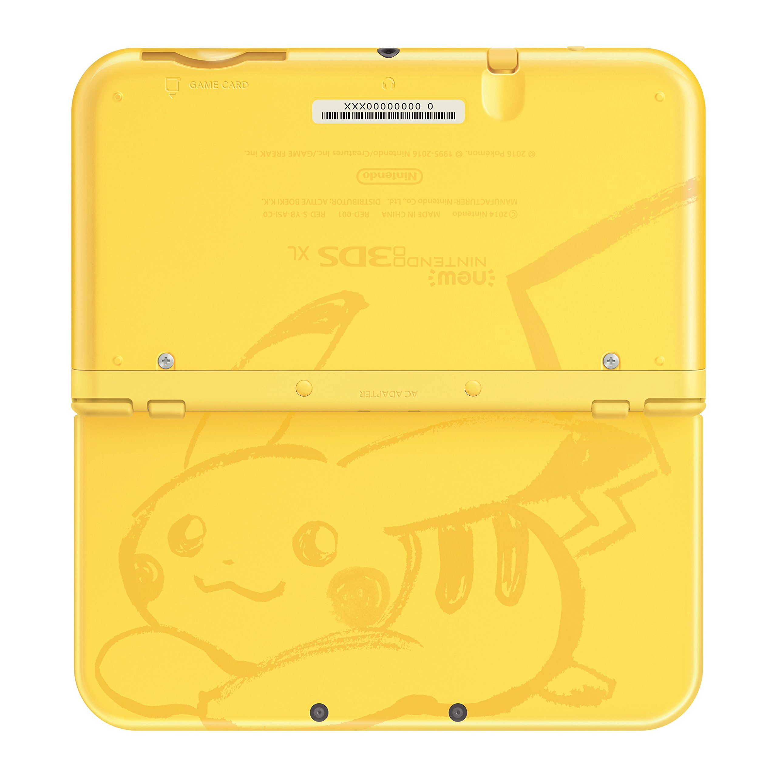 Nintendo New 3DS XL - Pikachu Yellow Edition [Discontinued] by Nintendo (Image #4)