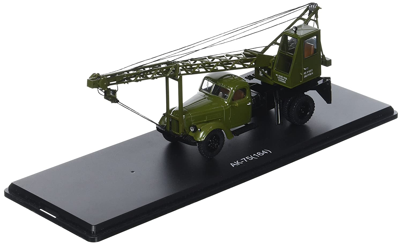 Start Scale Models ssm1130 – LKW Kran ak-75 ak-75 Kran (zil-164), Version von Ausstellung – Khaki 32a451