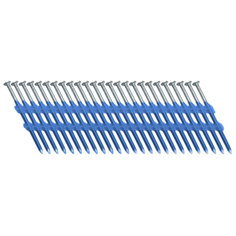 BECK FASTENER GROUP 20/° Plastik Streifenn/ägel 3,1x82mm Ring-Schaft elektro-verzinkt 12/µm