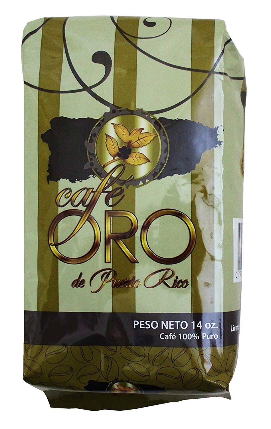 Gold Coffee~Cafe Oro De Puerto Rico 14 oz