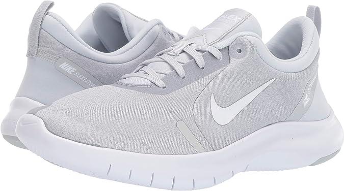 Nike Wmns Flex Experience RN 8, Zapatillas de Atletismo para Mujer, Multicolor (White/White/Pure Platinum/Wolf Grey 000), 36 EU: Amazon.es: Zapatos y complementos