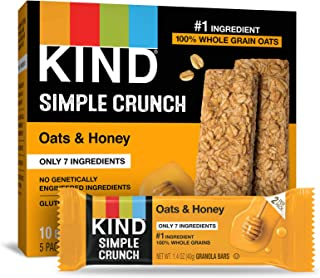 product image for KIND Simple Crunch Bars, Oats & Honey, 1.4 Ounce (Pack of 40)