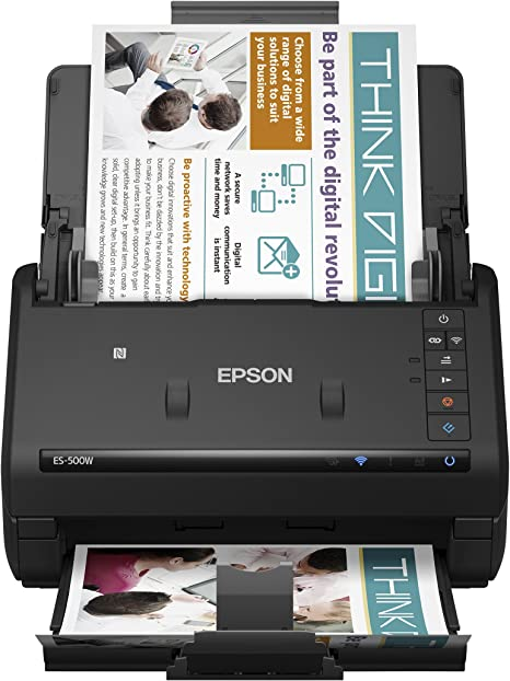 Amazon.com: Epson WorkForce ES-500W - Escáner de documentos ...