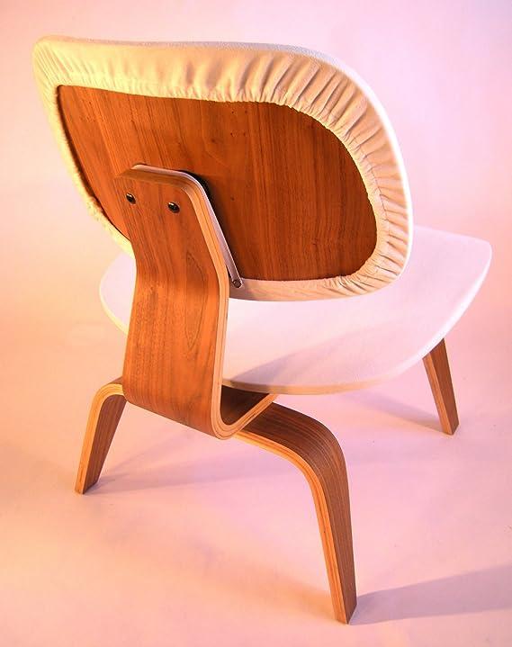 Amazon.com: Eames Silla de madera contrachapada Lounge ...