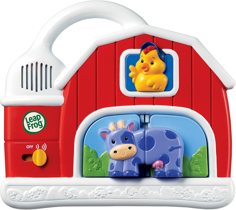 Amazon Com Leapfrog Fridge Farm Magnetic Animal Set Toys Games