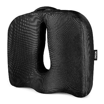 Amazon.com: Cojín ortopédico para asiento, espuma ...