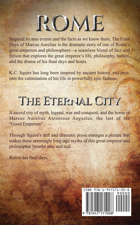 88a210e732f Roman Empire the Final Days of Marcus Aurelius  The Eternal City ...