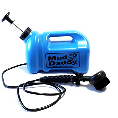 Mud Daddy 99000DS1BLUE Portable Mud Washing Brush, 5Ltr in Blue: Pet Supplies