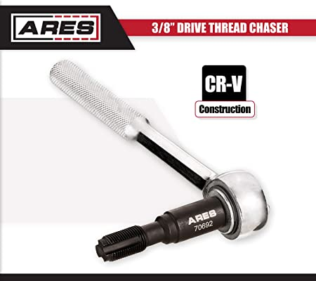 Amazon.com: ARES 70692 | Limited Access Thread Chaser | Fits M14 x 1.25mm Size Plugs | Perfect for Spark Plug Holes in Confined and Limited Access Areas: ...