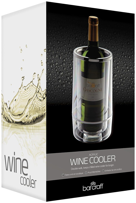 Kitchen Craft KCBCWCOOL - Enfriador para Botella de Vino (con Doble Pared, en Estuche Regalo)