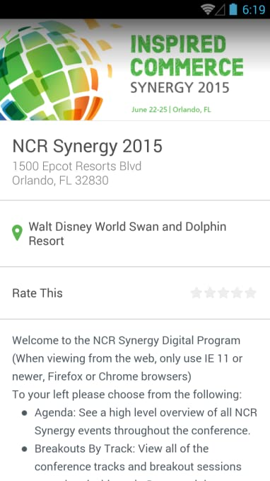 Amazon.com: NCR Synergy 2015: Appstore for Android