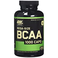 Optimum Nutrition BCAA 1000 Capsules - Pack of 200 Capsules