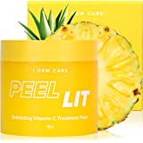 I DEW CARE Peel Lit Citric Acid Peel Pads | Exfoliating Vitamin C Treatment Pads with AHA and PHA | Chemical Peels for…