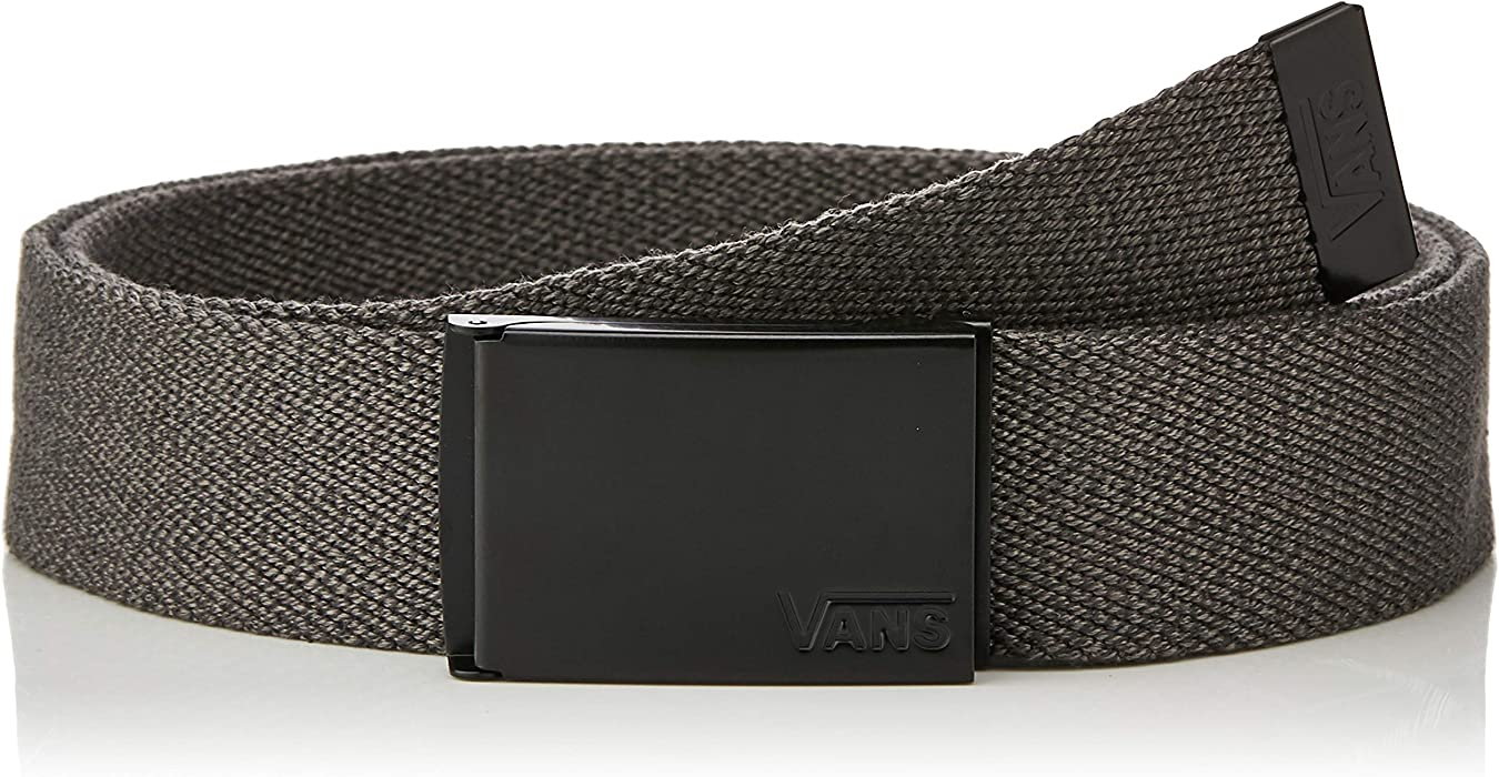 01057deeac Vans Mens Deppster Web Belt at Amazon Men s Clothing store