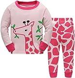 Amazon Price History for:Hugbug Toddler Girls Pretty Giraffe Pajama Set 2-7T