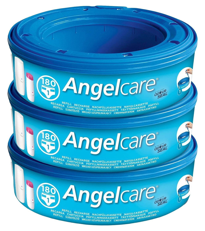 4 Piezas Lime Recambios para el Contenedor de Pa/ñales Angelcare Pecarga Multicapa Antibacteriano