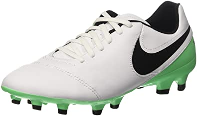 bc25bc195058 NIKE Men s Tiempo Genio Ii Leather Fg Football Boots  Amazon.co.uk ...
