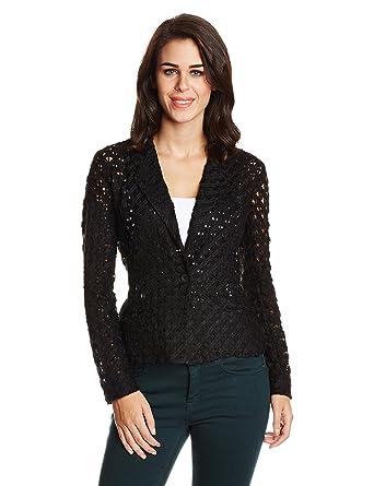 0098e8637426ce GENES - Lecoanet Hemant Women s Jacket (LHGW 701E07 P1 Black X-Small)