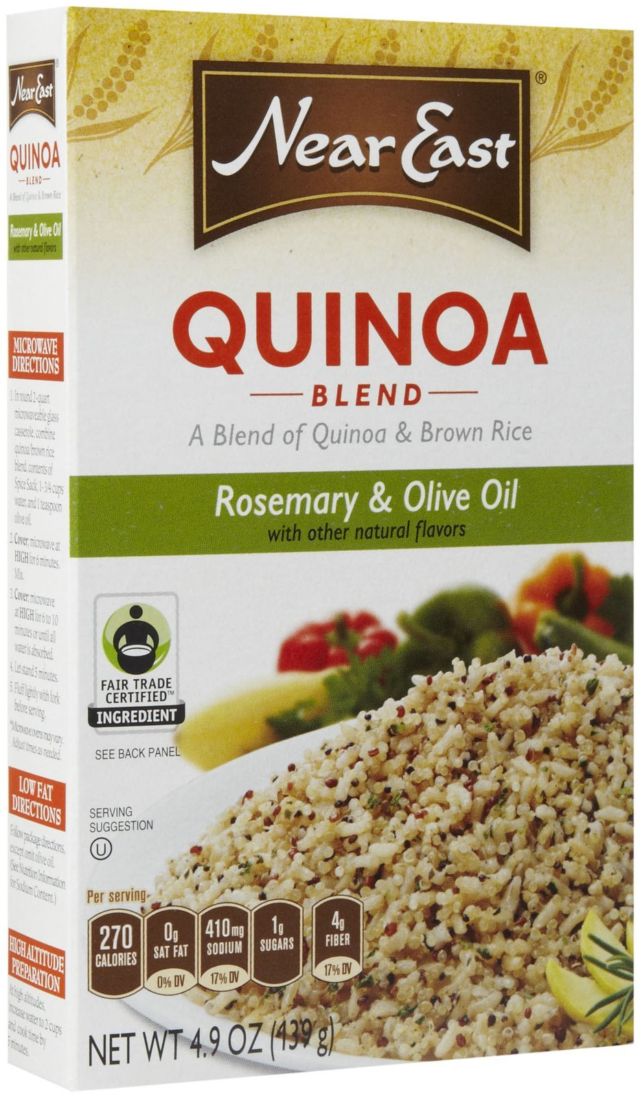 Near East Rosemary & Olive Oil Quinoa, 4.9 oz