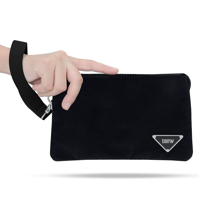 EOTW Monedero Carteras para mujer Bolso de mano con Llaves Monedas Tarjetas Dinero.(Negro): Amazon.es: Equipaje