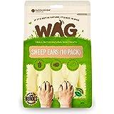 WAG Sheep Ears Dog Treat, 10 Pack