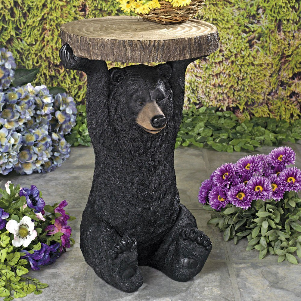 / Accento casa e Giardino o Decorazione Bits and Pieces Bit e Pezzi/  / Decorativo Bear Patio tavolino/