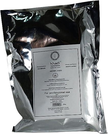 KHADI Tinte Vegetal en polvo – marrón – tamaño 500 gr: Amazon ...
