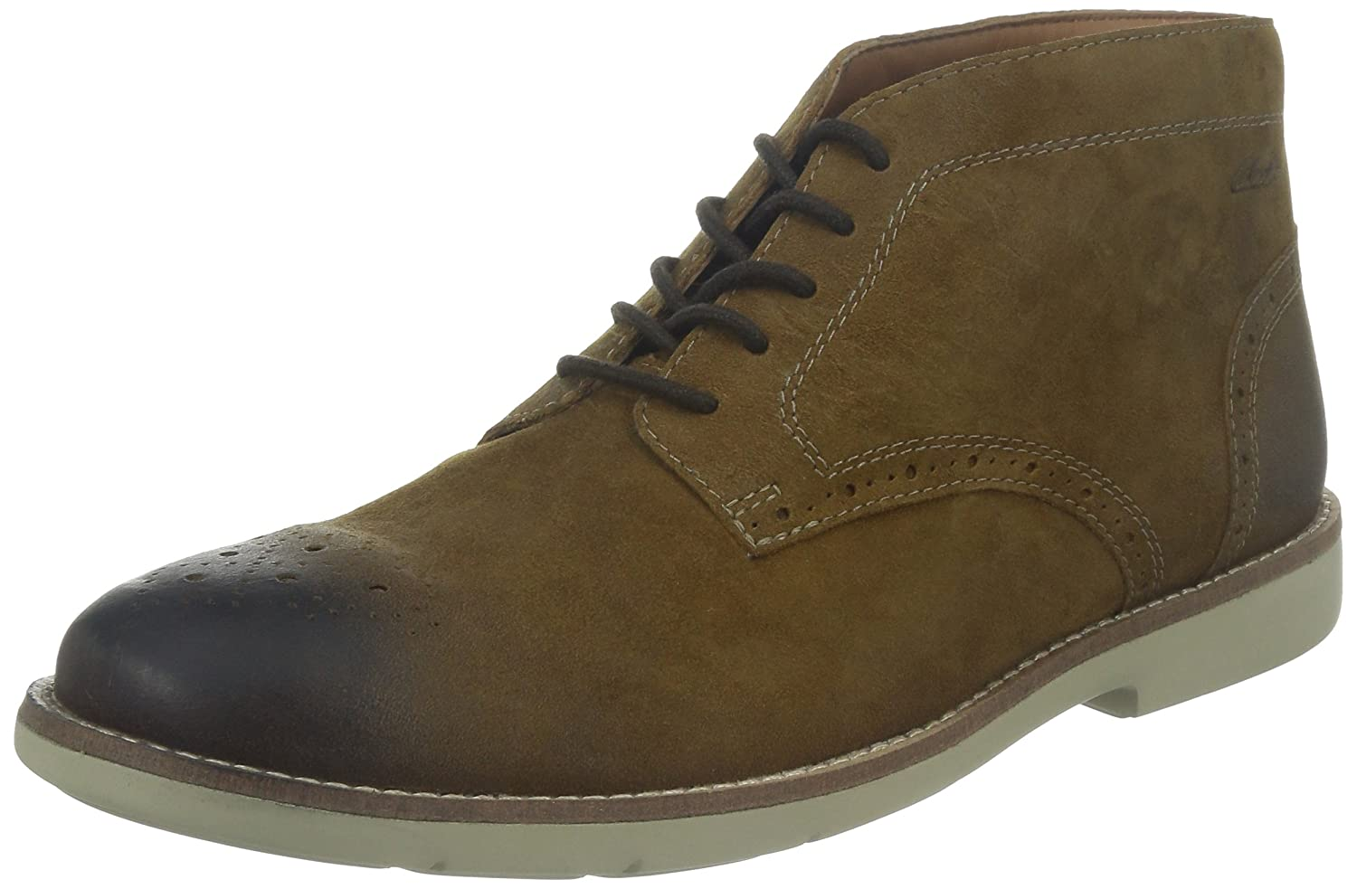 Clarks Raspin Limit, Chaussures de ville homme Marron 44.5 261032037 26103203_BrownLeather-44.5