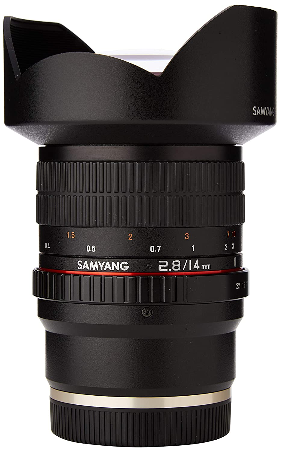 Samyang F1110606101 F2. - Objectivo para Sony-E, (8 14 mm IF ED ...