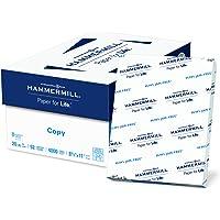 8-Ream (4000 Sheets) Hammermill 8.5 x 11 20lb Acid Free Copy Paper