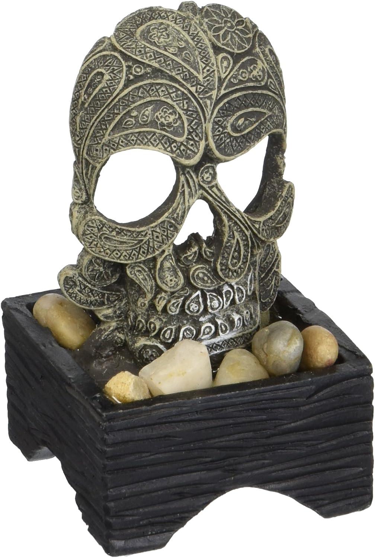 Marina Betta Skull Decor Ornament