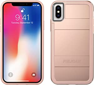 Pelican iPhone X Case | Protector iPhone X Case (Metallic Rose Gold)