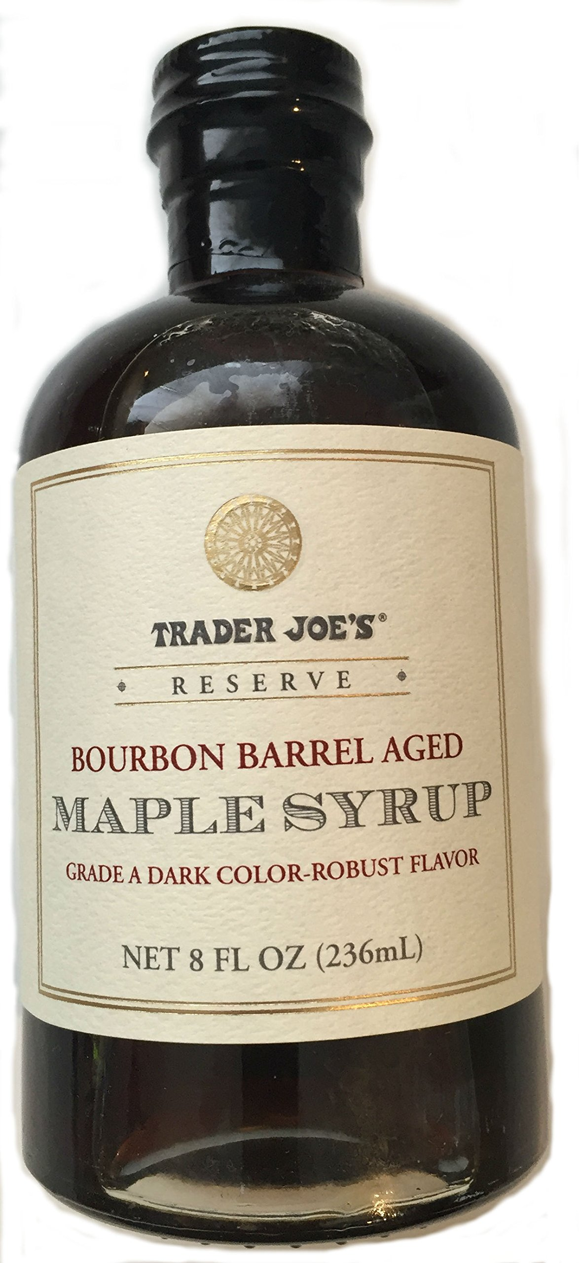 Trader Joe's Bourbon Barrel Aged Maple Syrup 8 Fl Oz