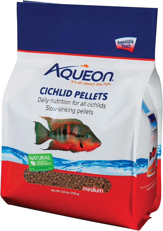 Aqueon Cichlid Food Medium Pellet