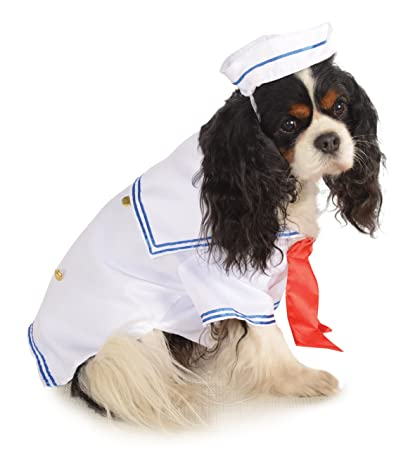 Rubieu0027s Pet Costume Small Sailor Boy  sc 1 st  Amazon.com & Amazon.com : Rubieu0027s Pet Costume Small Sailor Boy : Dog Sailor ...