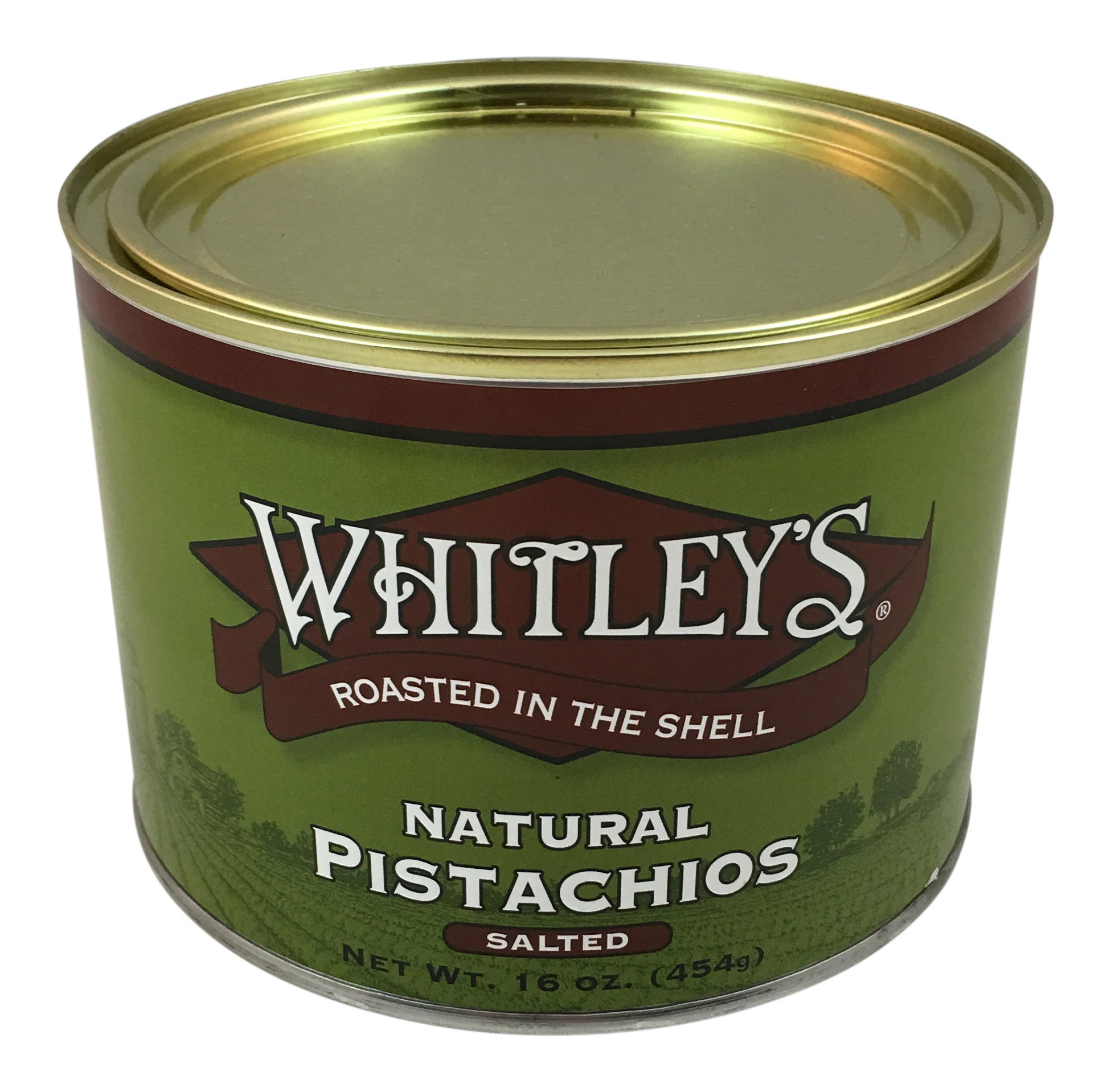 Whitley's Natural Pistachios Salted 16 Oz.
